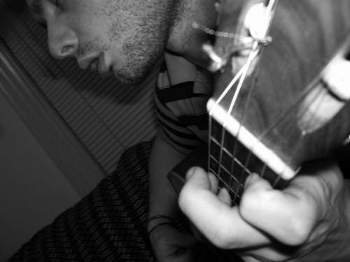 Guitar Guitarist Musical Instrument Acoustic