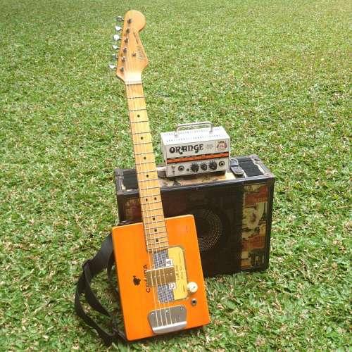 Guitar Amplifier Speaker Cabinet Park Grass