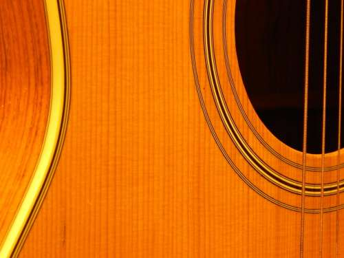 Guitar Strings Instrument Music Musical Acoustic
