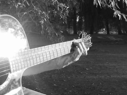 Guitar Play Guitar Pluck Hand Finger Music