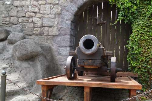 Gun Weapon Cannonball Weapons Old Cannon Metal
