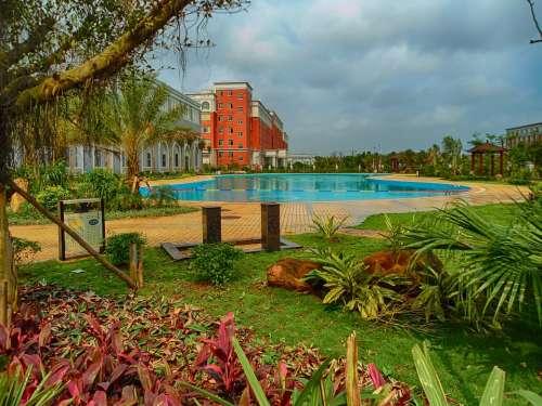 Haikou College Hainan China School Swimming Pool