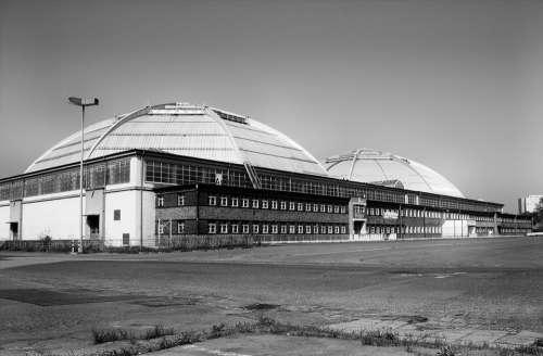 Hall Building Leipzig Kohlrabi Circus Circus