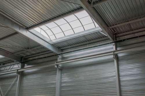 Hall Facade Steel Siding