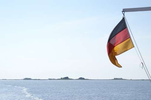 Halligen Langeneß North Sea Wadden Sea Germany