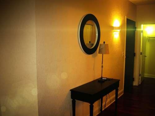 Hallway Light Lens Optical Flares Desk Wall Lamp