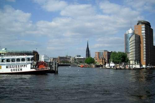 Hamburg Port City Elbe Harbour Cruise