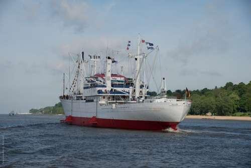 Hamburg Frachtschiff Germany Port Cap San Diego