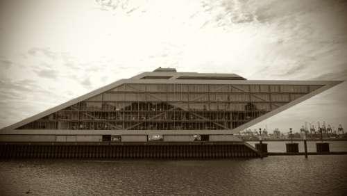 Hamburg Elbe Architecture Building Port