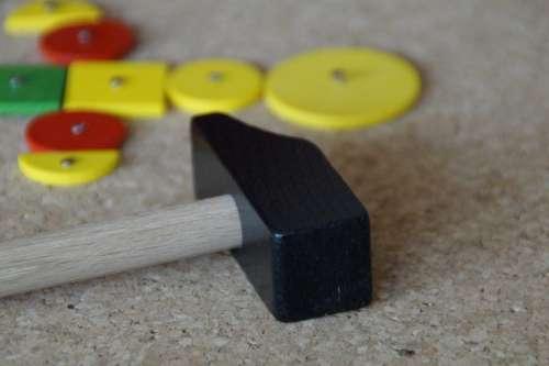 Hammer Game Hammer Children'S Build Legematerial