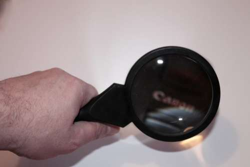 Hand Magnifying Glass Increase Magnifier Glass