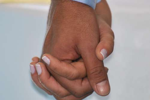 Hand In Hand Love Casal Marriage Passion