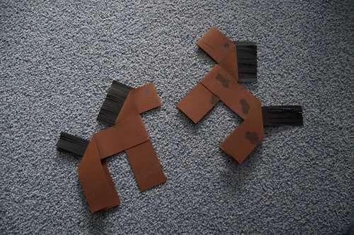 Handicraft Origami Horses Seahorses Folding Work