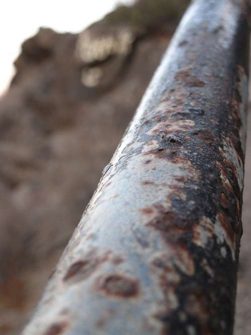 Handrail Oxide Old Time