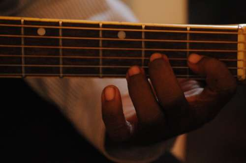 Hands Guitar Music Music Lessons Fingers