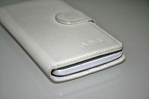 Handytasche Case Purse Bags Sleeve White