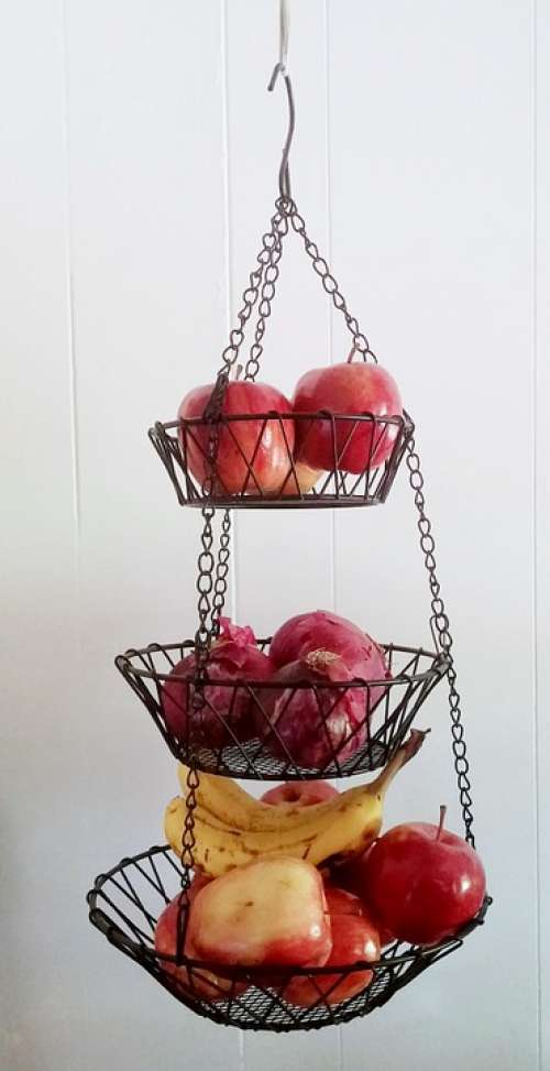 Hanging Basket Wire Basket Basket Fruit Basket