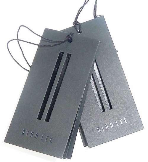 Hangtag Swingtag Clothing Label