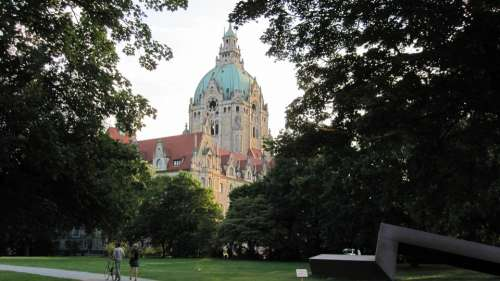 Hanover New Town Hall Lower Saxony Germany
