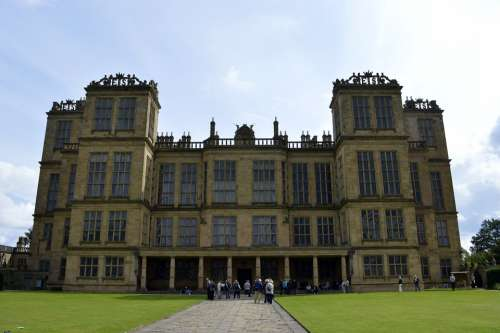 Hardwick Hall Hardwick Tudor Architecture Windows