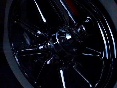 Harley Davidson Motorcycles Front Wheel Chrome