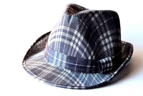 Hat Fashion Checkered Headwear Fashionable