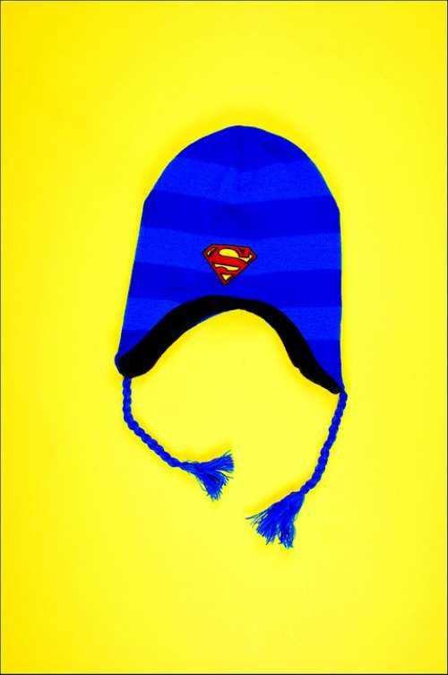 Hat Blue Yellow Superman Young Lifestyle