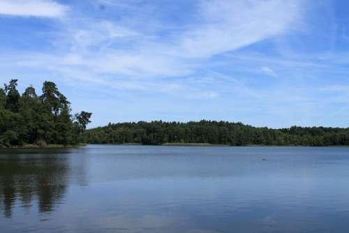Havel Lake Water Clouds