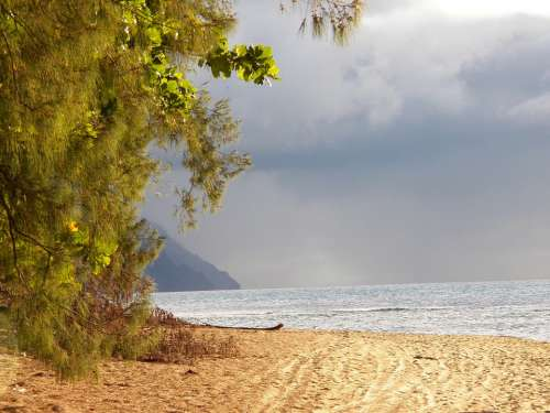 Hawaii Kauai Sea Ocean Nature Water Beach