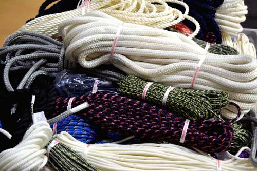 Hawsers Ropes Cords Tightropes Climbing