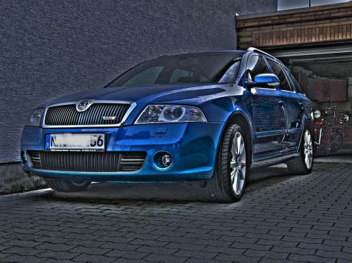 Hdr Photography Auto Vehicle