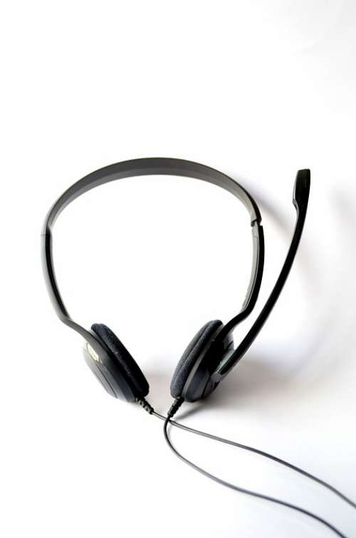 Headphones Mic Headset Microphone Audio Technology