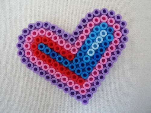 Heart Mother'S Day Love Ironing Beads Beads Child