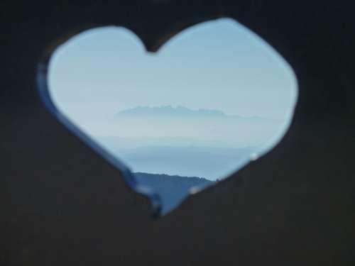 Heart Montserrat Satins Peguera Sky