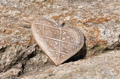 Heart Wood Stone Nature