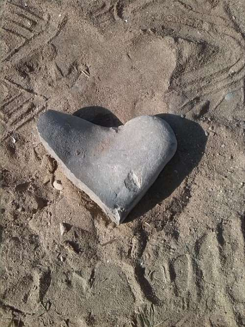 Heart Of Stone Feelings Love My Dear Stones Heart