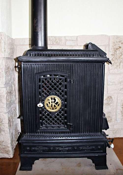 Heating Oven Historically Cast Iron Old Nostalgia