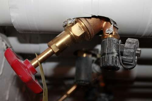 Heating Pipes Valve Screw Cap