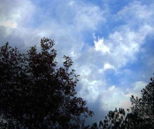 Heaven Horizon Clouds Cloudy Billowing Nebula Sky