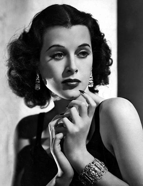Hedy Lamarr Actress Vintage Movies Motion Pictures