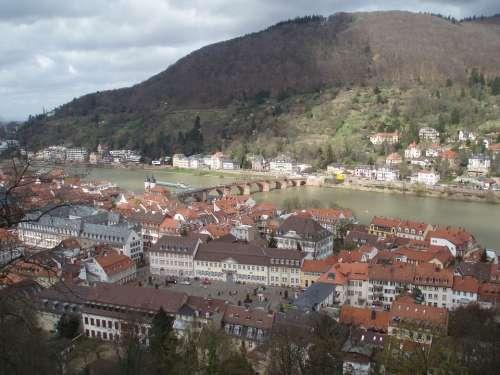 Heidelberg Philosopher'S Path Neckar