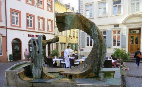 Heidelberg Restaurant Houses Historic Center