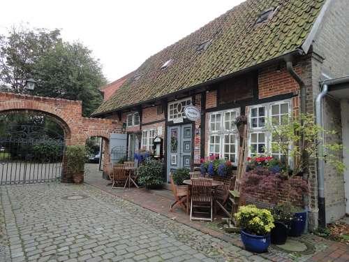 Heiligenhafen Baltic Sea Old Houses Restaurant