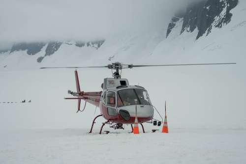 Helicopter Alaska Mendenhall Glacier