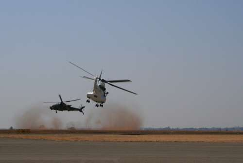 Helicopters Aerial Display Aviation Flying Skill