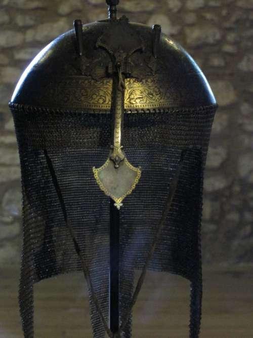 Helm Helmet Armor Old Museum Military Warrior