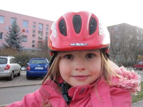 Helmet Bicycle Helmet Girl Child Infant