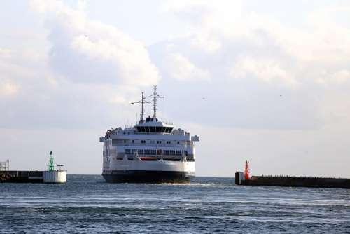Helsingborg Port Boat Water