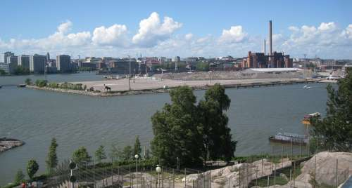 Helsinki Korkeasaari Observation Tower Landscape