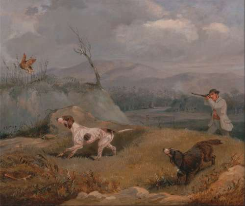 Henry Alken Art Artistic Painting Oil On Canvas